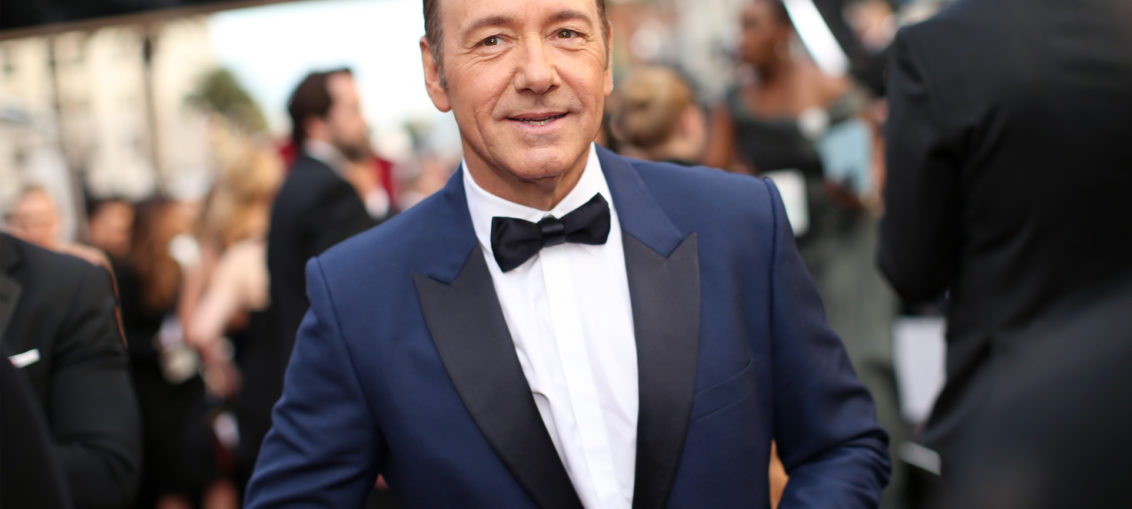 Kevin Spacey completa 57 anos em 2016