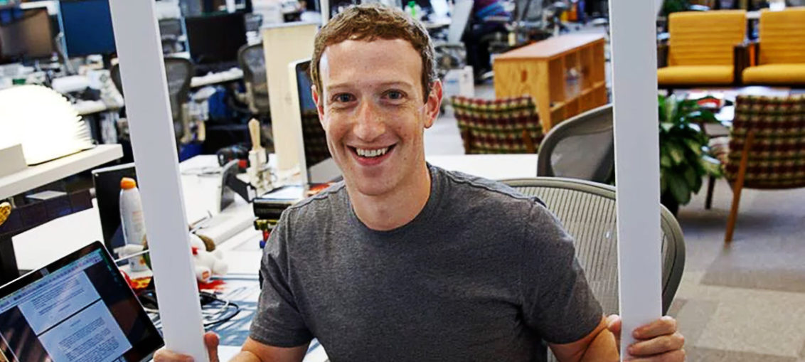 Mark Zucherberg, criador do Facebook