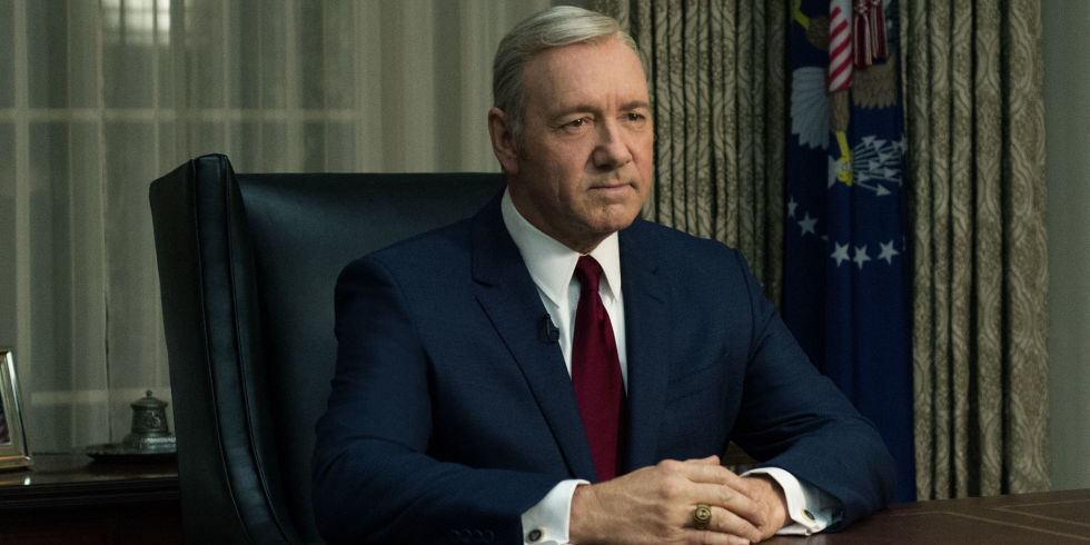 Kevin Spacey, por Frank Underwood - House Of Cards