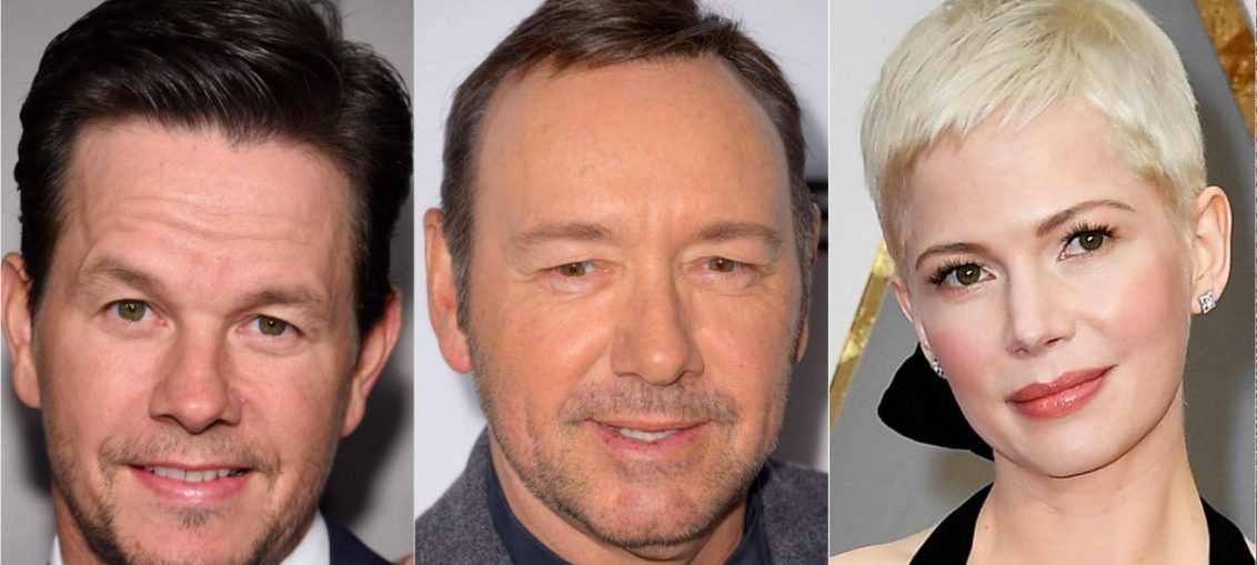 Ridley Scott negocia com Kevin Spacey, Michelle Williams e Mark Wahlberg para próximo filme
